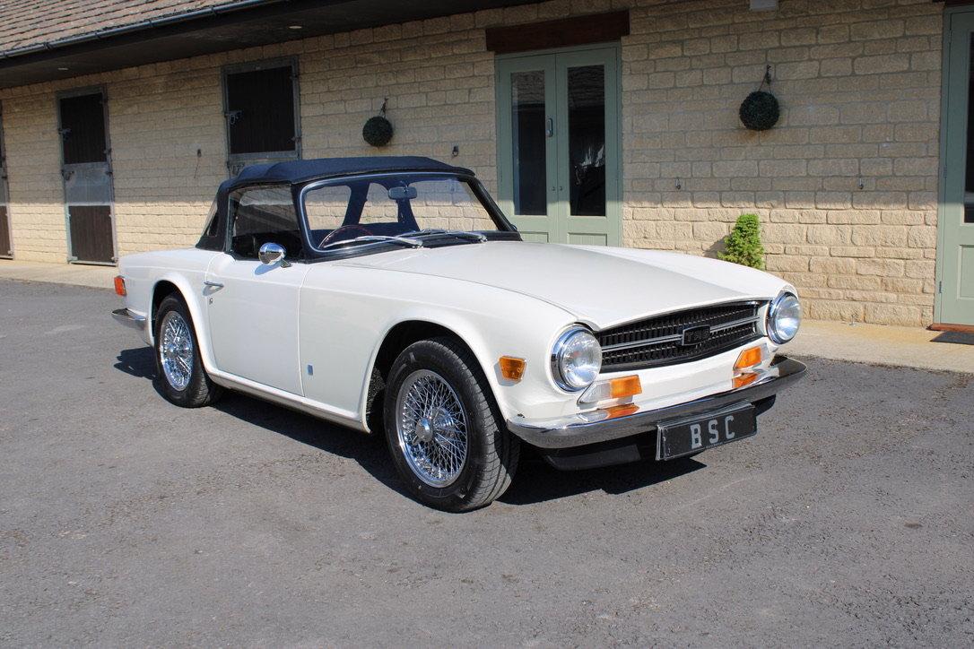 1973 TRIUMPH TR6 - £29,950 For Sale (picture 1 of 12)