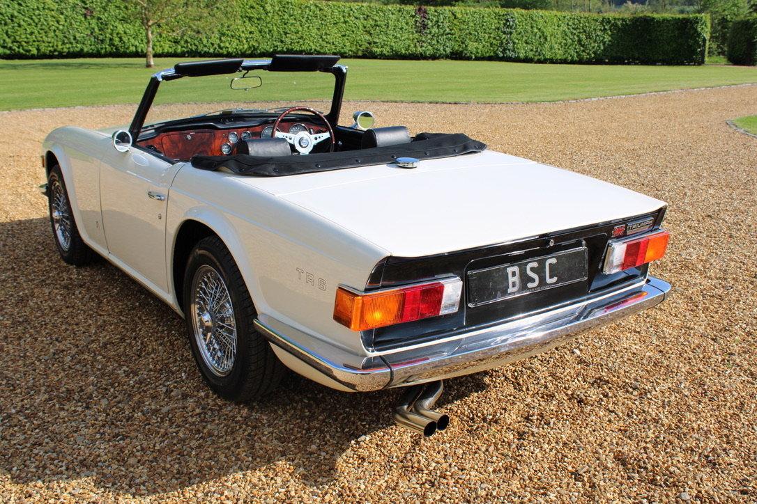 1973 TRIUMPH TR6 - £29,950 For Sale (picture 2 of 12)
