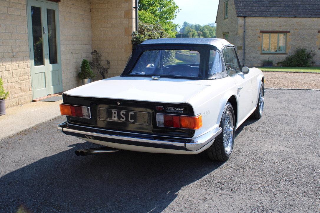 1973 TRIUMPH TR6 - £29,950 For Sale (picture 3 of 12)