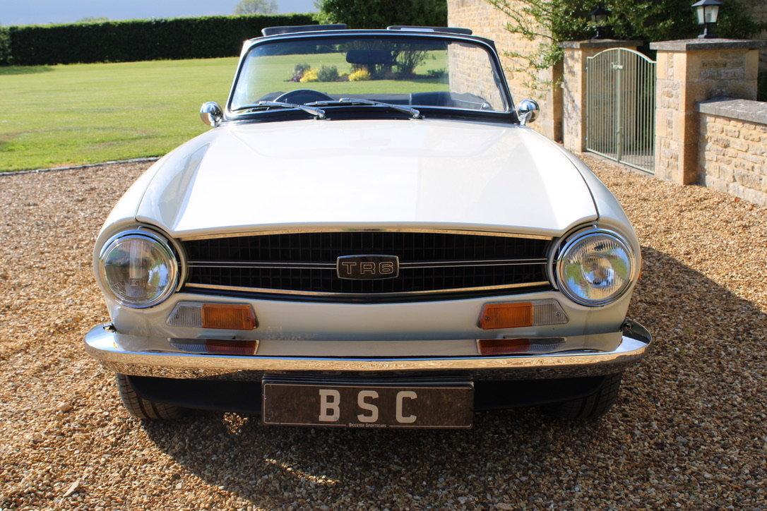 1973 TRIUMPH TR6 - £29,950 For Sale (picture 4 of 12)