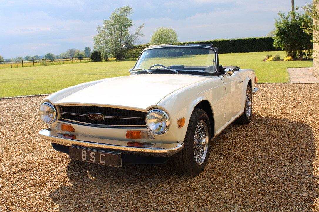 1973 TRIUMPH TR6 - £29,950 For Sale (picture 5 of 12)