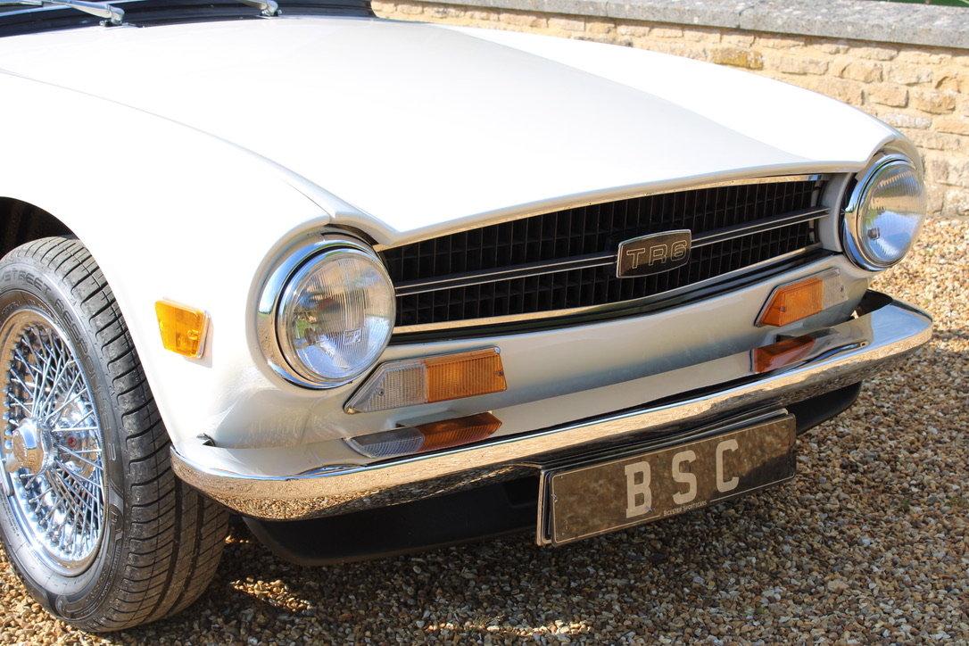 1973 TRIUMPH TR6 - £29,950 For Sale (picture 12 of 12)