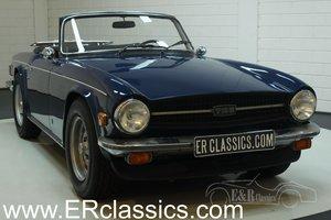 Triumph TR6 cabriolet 1975 Delft Blue For Sale