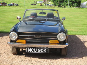 1972 TR6 Lovely ready to drive away PRICE REDUCED