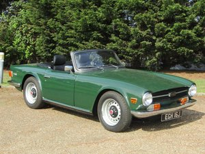 1970 Triumph TR6 at ACA 15th June