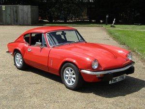 1972 Triumph GT6 MKIII at ACA 15th June