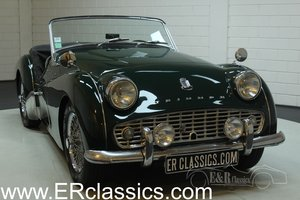 Triumph TR3A 1960 Overdrive British Racing Green