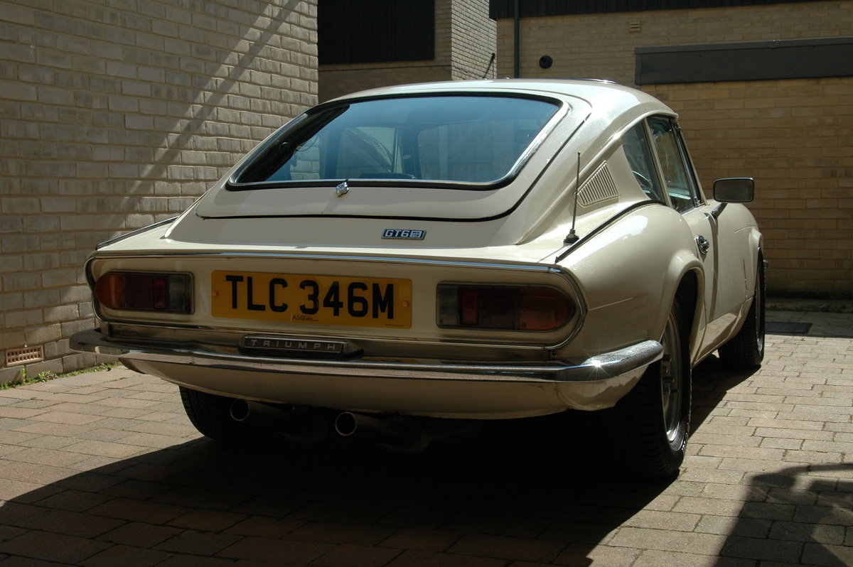 1973 Triumph GT6 MK3 Running Restoration Project For Sale (picture 3 of 6)
