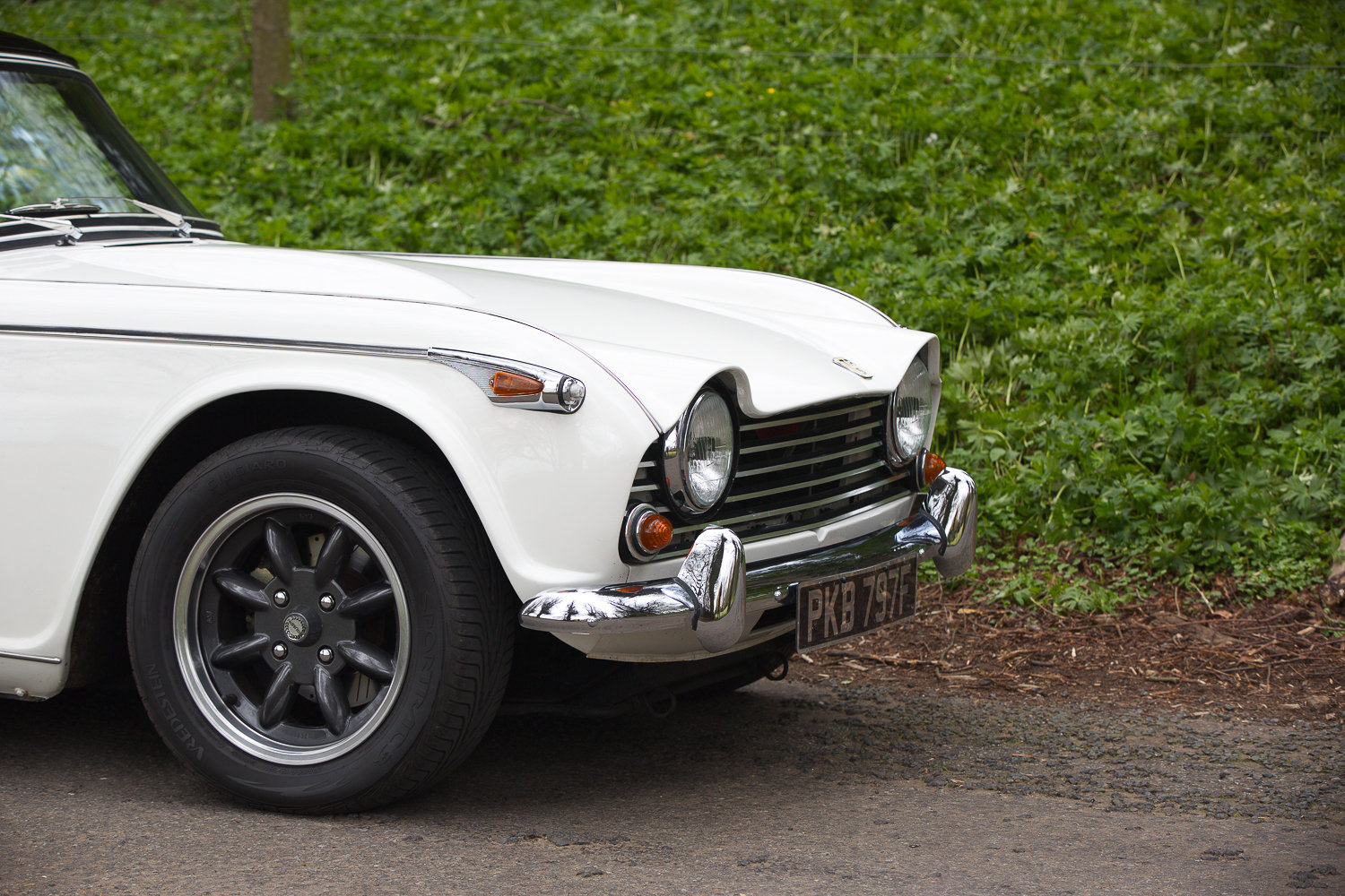 1968 TRIUMPH TR5 PI RHD UK CAR COLOSSAL HISTORY MATCHING NUMBERS  For Sale (picture 4 of 6)