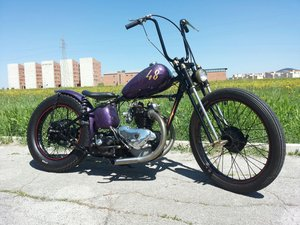 TRIUMPH 3T DELUXE 1948 CHOPPER/BOBBER For Sale