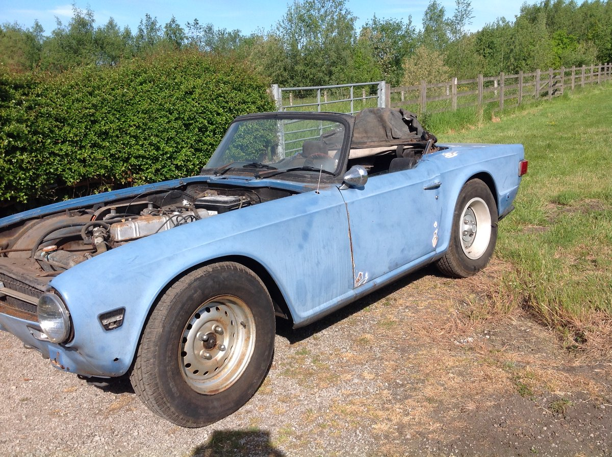 1974 tr6 lhd For Sale (picture 3 of 6)