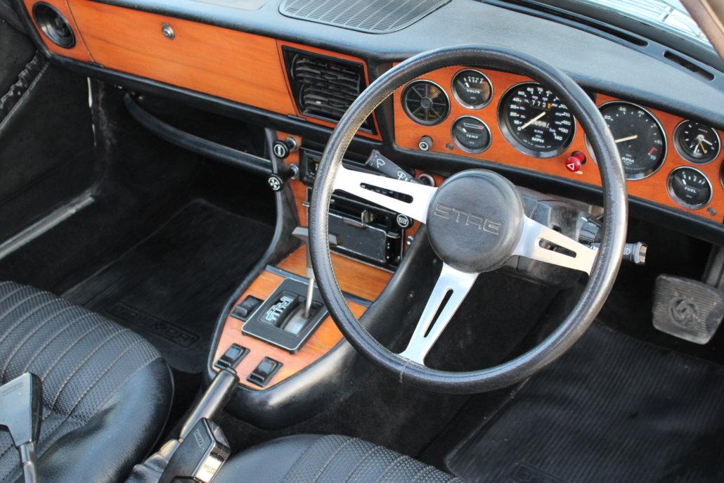 1974 TRIUMPH STAG AUTO For Sale (picture 6 of 12)