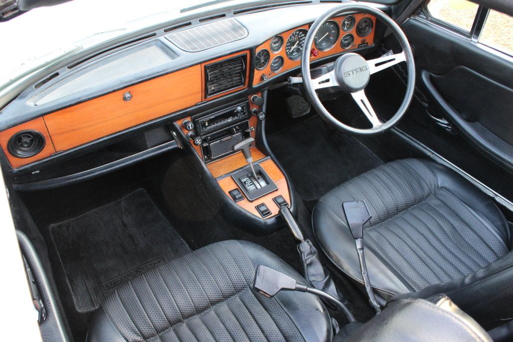 1974 TRIUMPH STAG AUTO For Sale (picture 7 of 12)