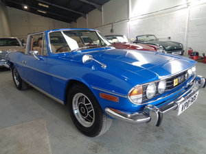 1978 STAG AUTOMATIC - 17,000 GENUINE MILES FSH !! For Sale