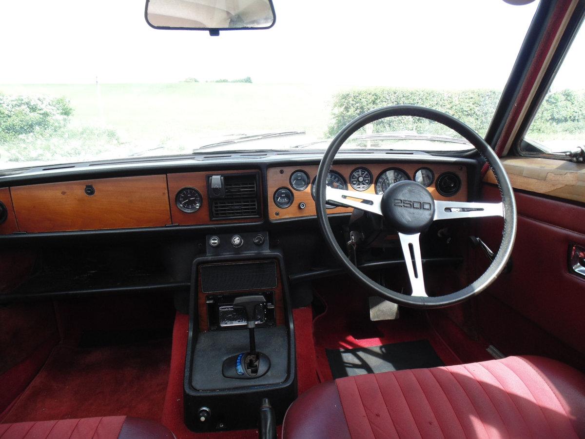 1971 Triumph 2.5PI Automatic SOLD (picture 4 of 6)