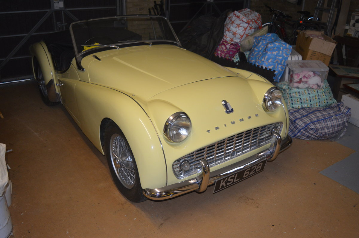 1959 Triumph TR3 A to be sold by auction Friday 12th July For Sale by Auction (picture 2 of 6)