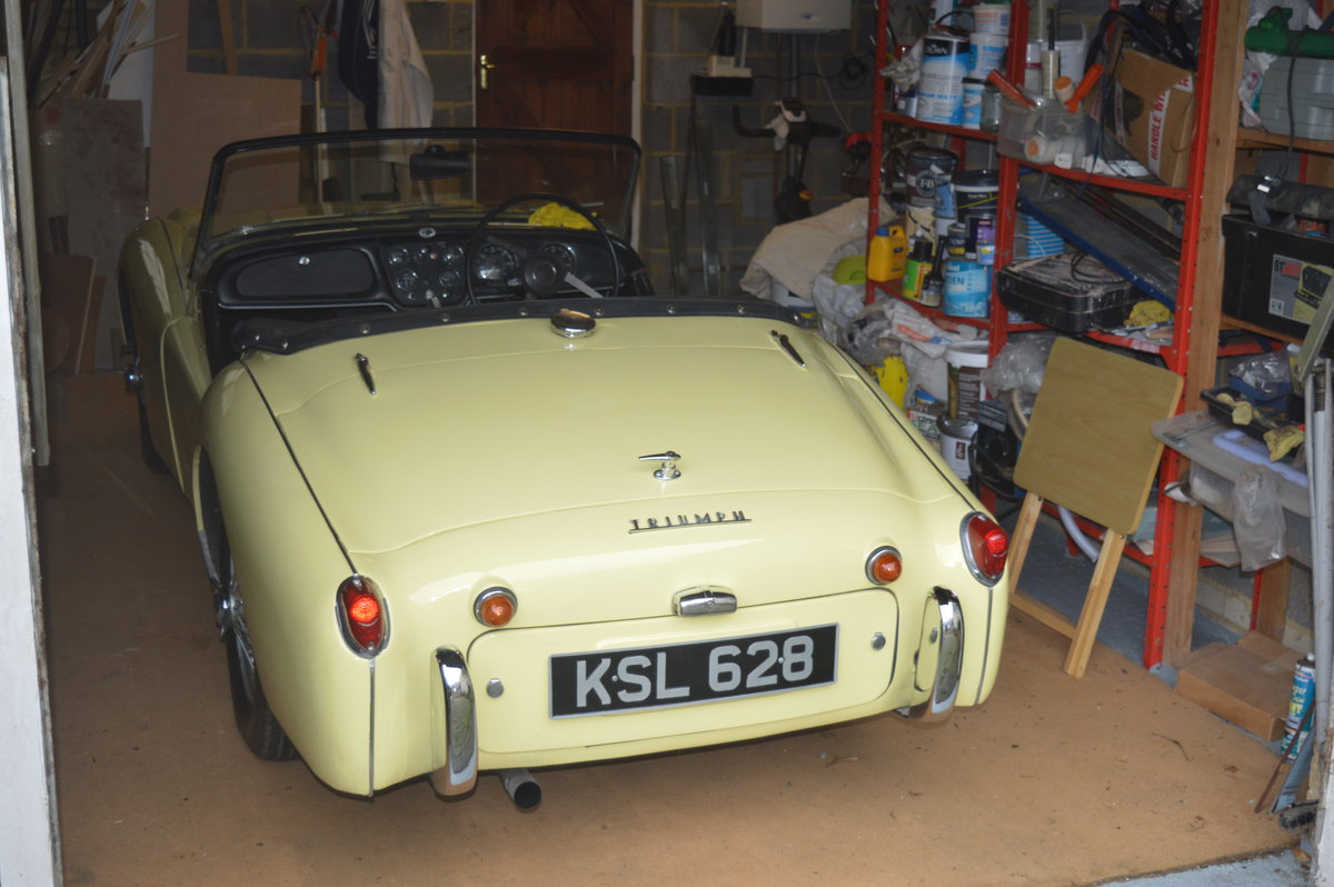 1959 Triumph TR3 A to be sold by auction Friday 12th July For Sale by Auction (picture 5 of 6)