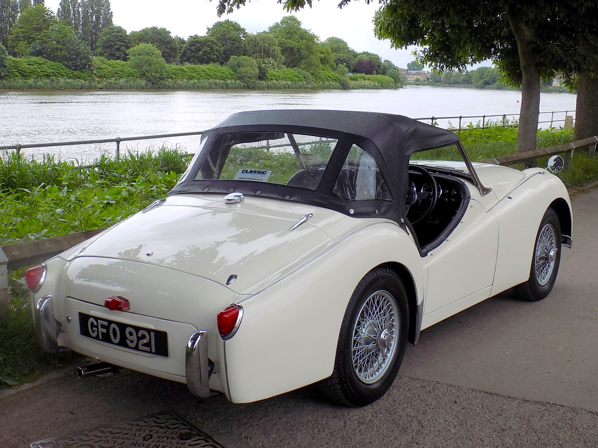 1956 TRIUMPH TR3 - MATCHING NUMBERS - FULLY RESTORED  For Sale (picture 5 of 6)
