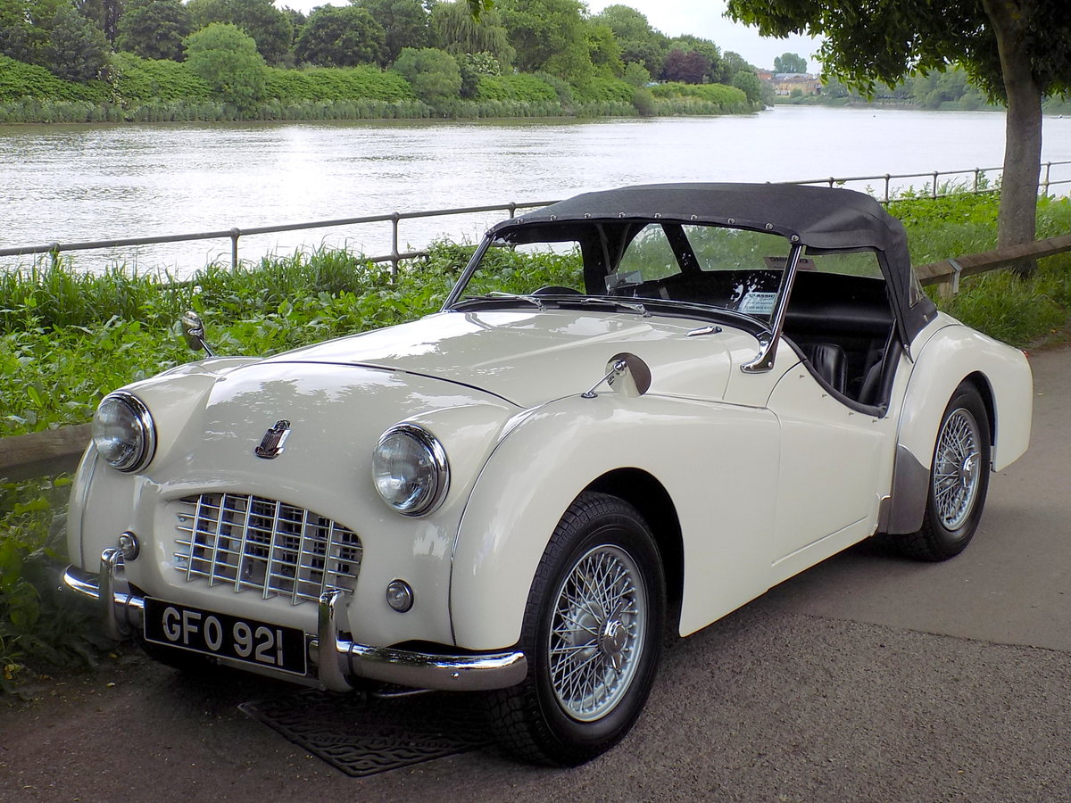 1956 TRIUMPH TR3 - MATCHING NUMBERS - FULLY RESTORED  For Sale (picture 6 of 6)