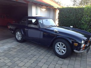 1969  Early Triumph TR 6 PI Original RHD