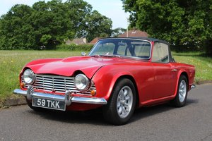 Triumph TR4 1962 - To be auctioned 26-07-19 For Sale by Auction