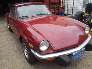 1977 LHD SPITFIRE 1500 CALIFORNIAN IMPORT c/w HARD TOP SOLD