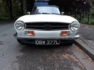 1972 Triumph TR6 2.5 PI with Overdrive For Sale