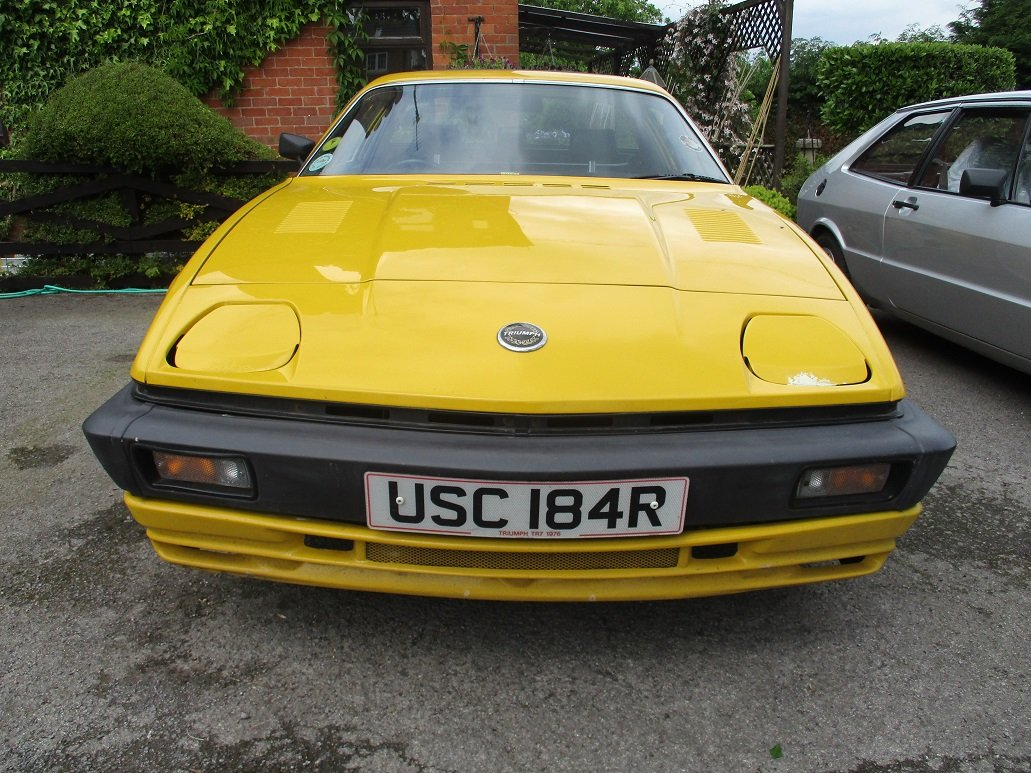 1976 TRIUMPH TR7 - FOR RESTORATION For Sale (picture 1 of 3)