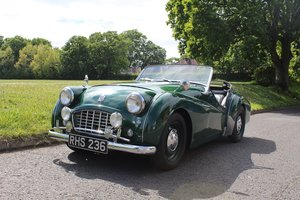 Triumph TR3 1954 - To be auctioned 26-07-19 For Sale by Auction