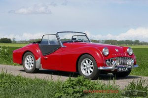 1959 Triumph TR3A with Overdrive For Sale