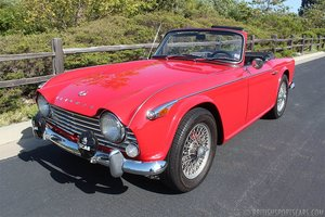 1965 Triumph TR4A Convertible = Roadster Dry Desert $22k For Sale