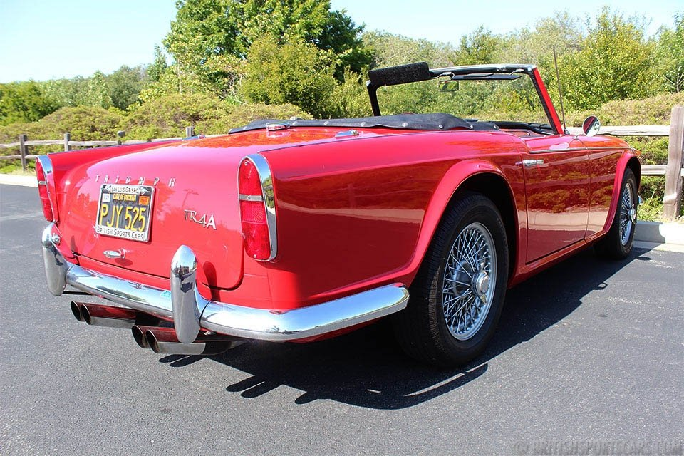 1965 Triumph TR4A Convertible = Roadster Dry Desert $22k For Sale (picture 2 of 6)