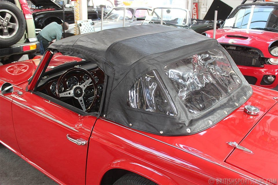 1965 Triumph TR4A Convertible = Roadster Dry Desert $22k For Sale (picture 6 of 6)