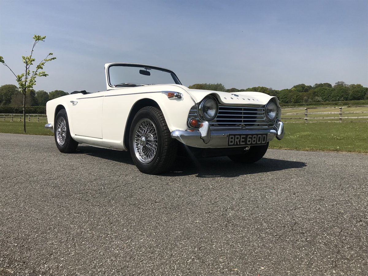 1966 Triumph TR4A 4 speed fitted with overdrive For Sale (picture 1 of 6)