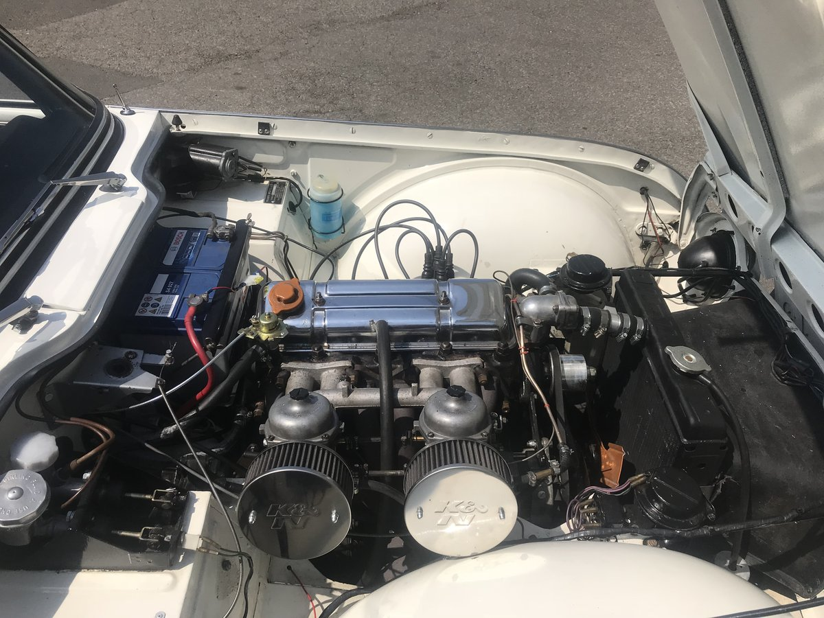 1966 Triumph TR4A 4 speed fitted with overdrive For Sale (picture 6 of 6)