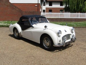 """1957 Triumph TR3 """"Small Mouth"""" at ACA 15th June  For Sale"""