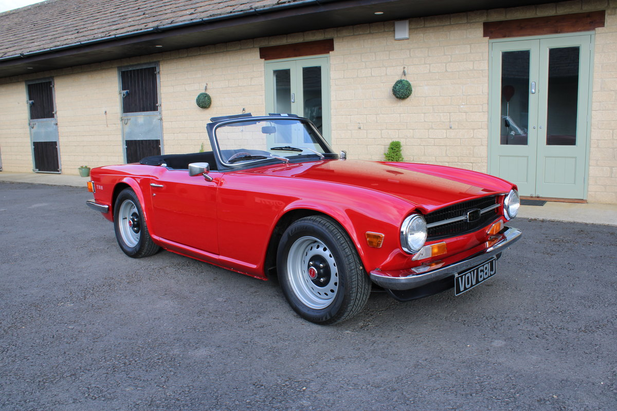 1970 TRIUMPH TR6 150 BHP  For Sale (picture 1 of 12)