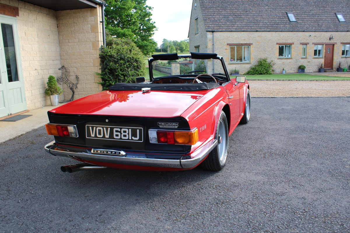 1970 TRIUMPH TR6 150 BHP  For Sale (picture 2 of 12)
