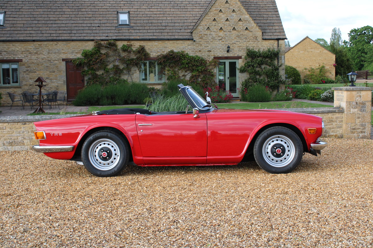 1970 TRIUMPH TR6 150 BHP  For Sale (picture 3 of 12)