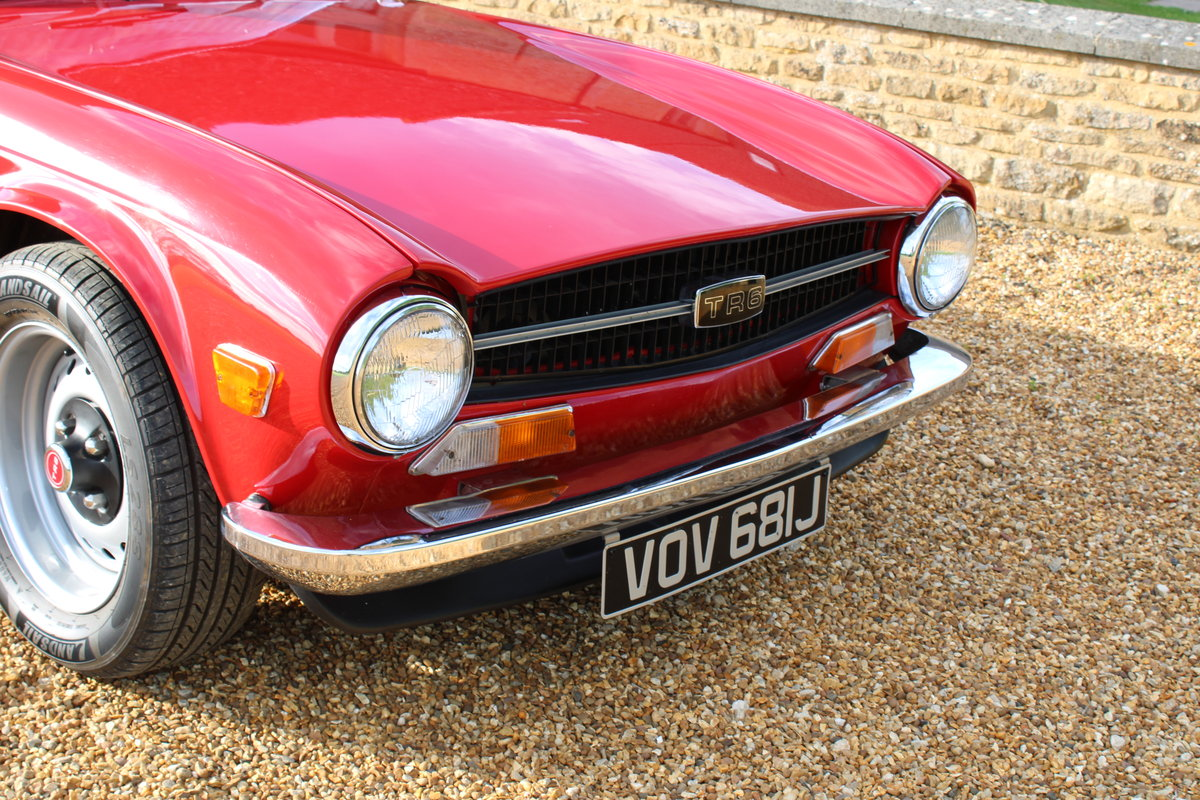 1970 TRIUMPH TR6 150 BHP  For Sale (picture 6 of 12)