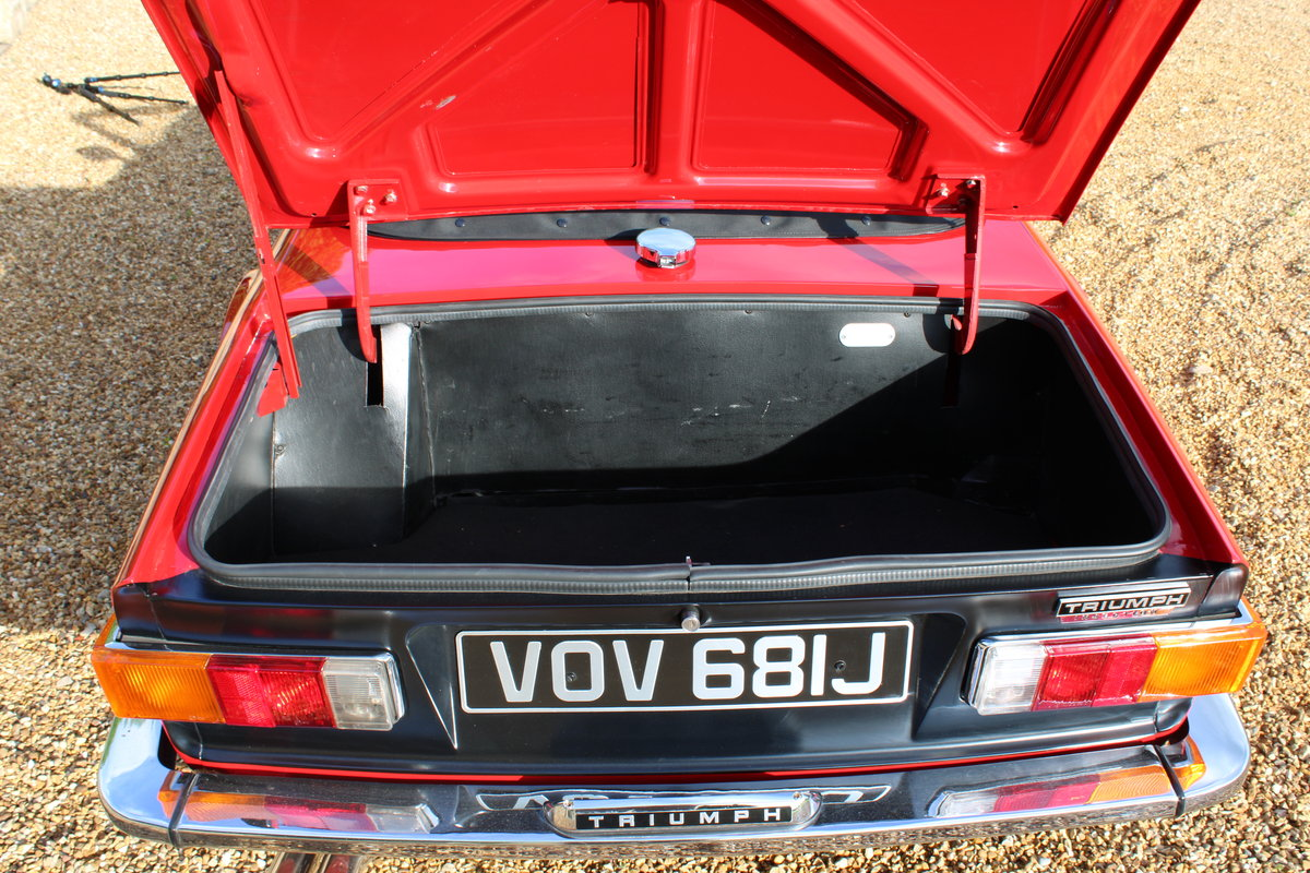 1970 TRIUMPH TR6 150 BHP  For Sale (picture 8 of 12)