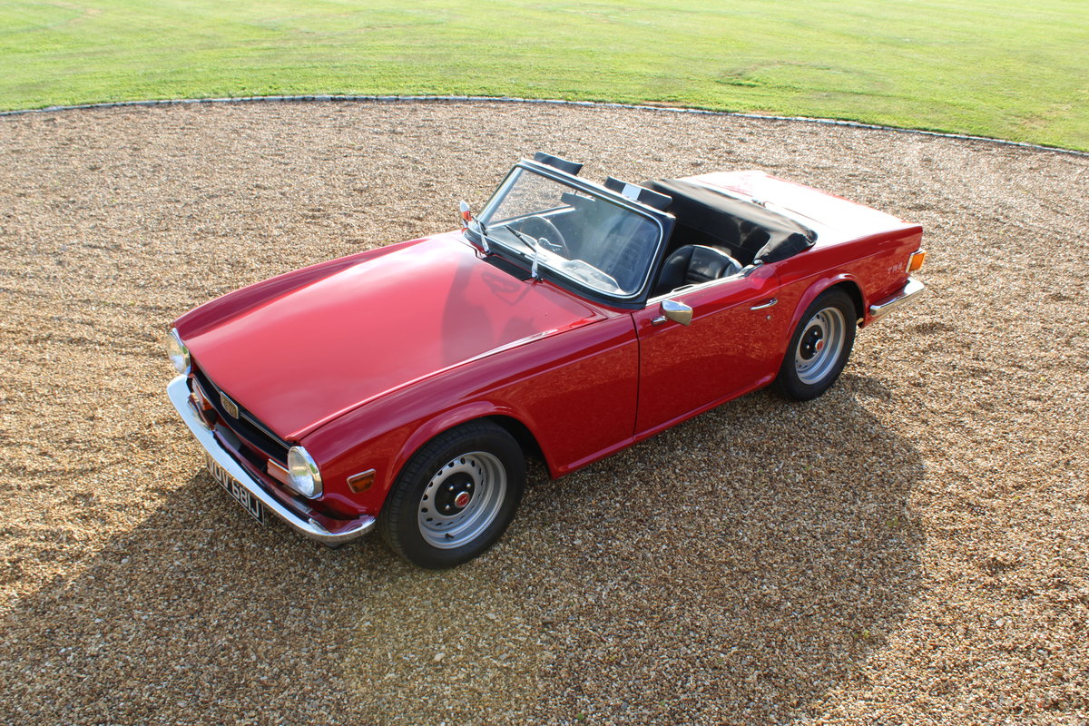 1970 TRIUMPH TR6 150 BHP  For Sale (picture 11 of 12)