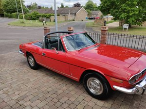 1975 Triumph Stag Mk 2 man o/d For Sale
