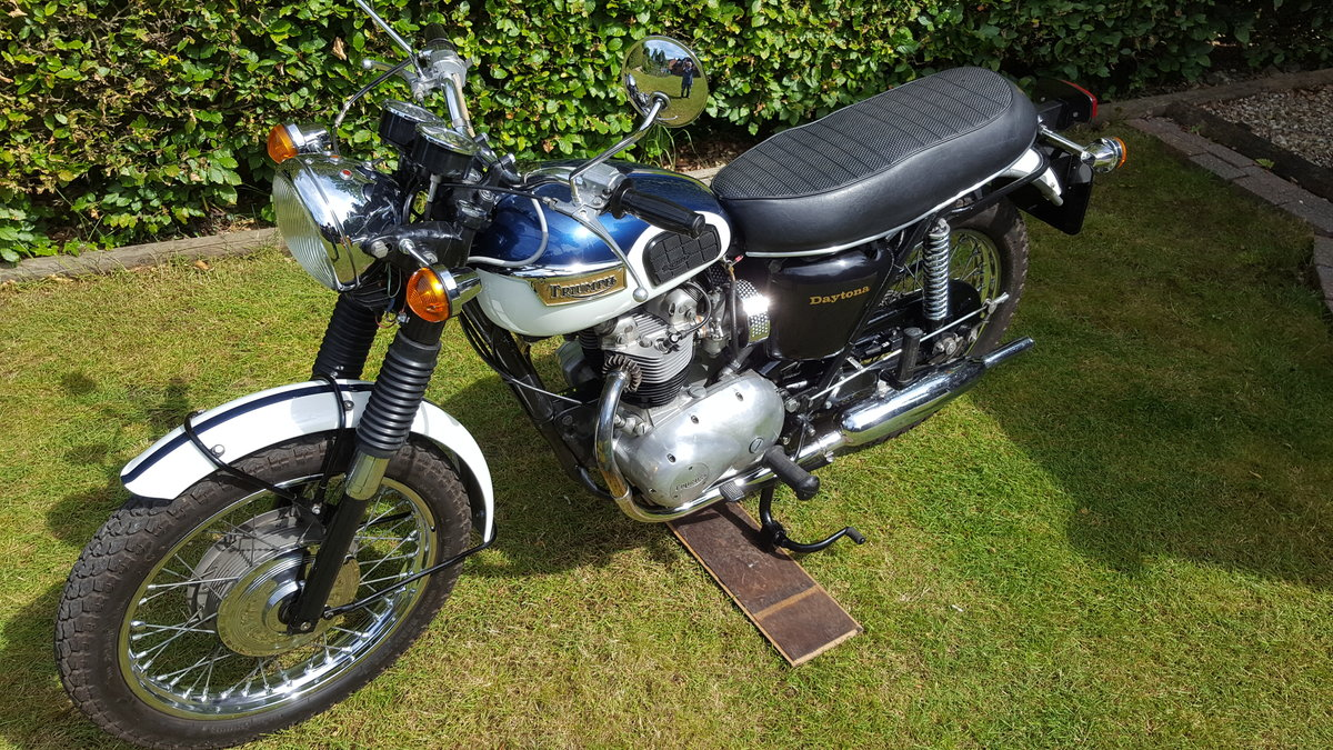 1971 Triumph T100R Daytona For Sale (picture 2 of 6)