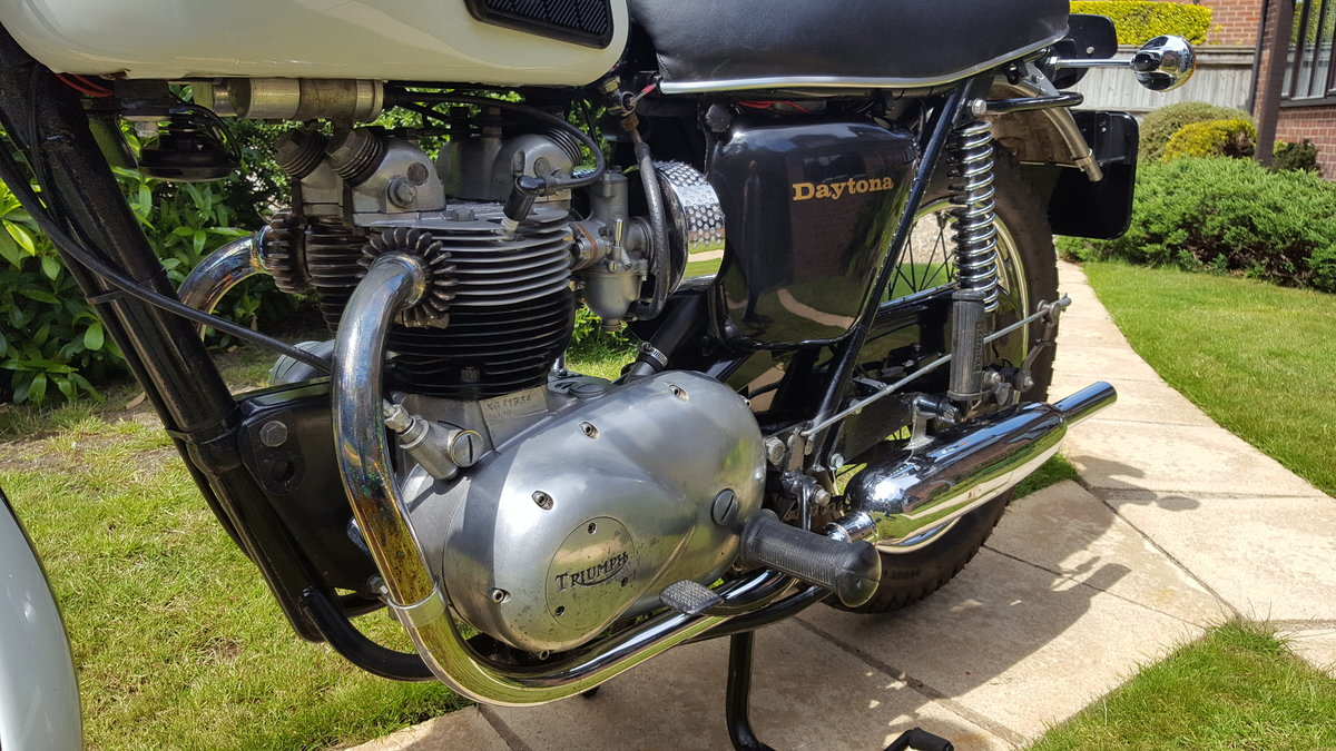1971 Triumph T100R Daytona For Sale (picture 4 of 6)