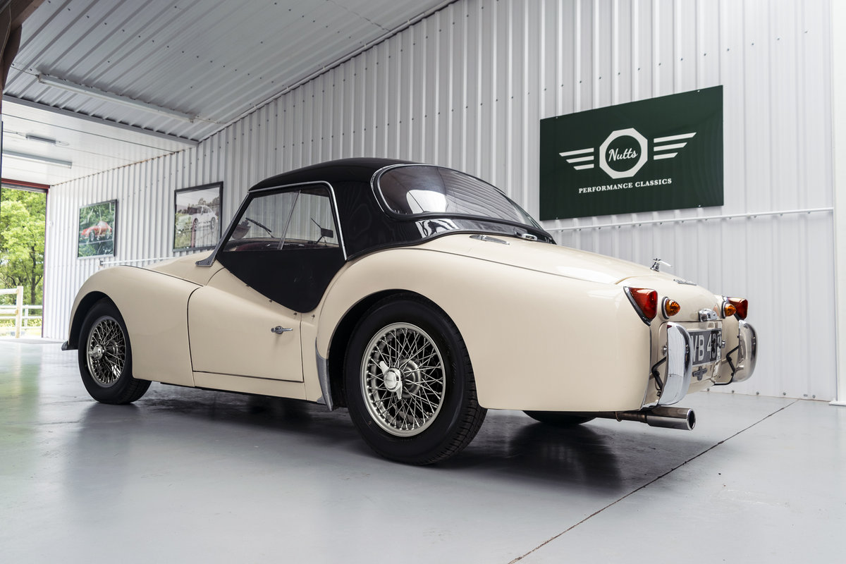 1958 Triumph TR3 A with works hard top, Beautiful condition SOLD (picture 3 of 6)