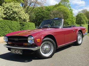 1972 Triumph TR6 2.5 Pi 150 BHP UK CAR SOLD