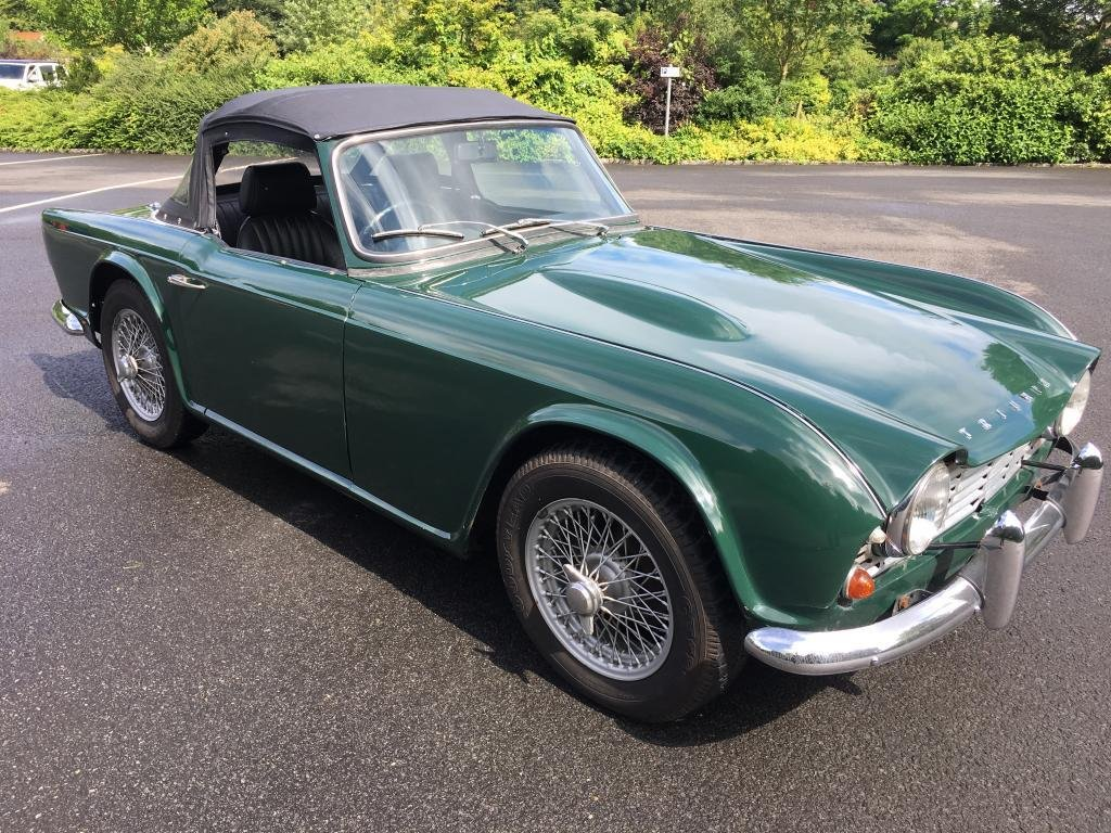 1964 Stunning 1962 RHD Triumph TR4 with overdrive For Sale (picture 2 of 6)
