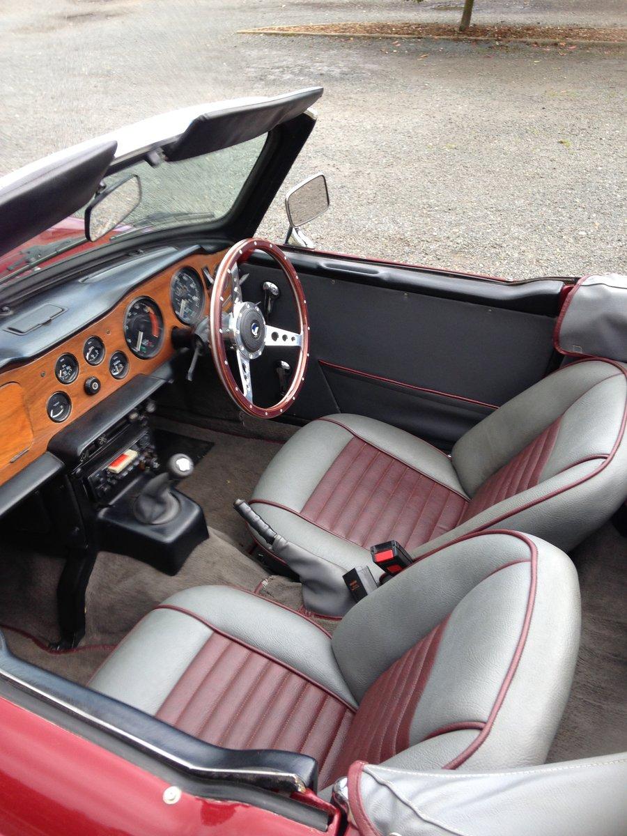1971 Triumph TR6 For Sale (picture 4 of 6)