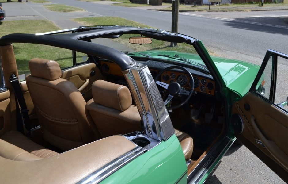 1997 Triumph Stag MK2 with hard top - very original  For Sale (picture 8 of 9)